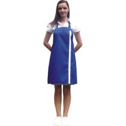 Fartuch Teresa niebieski